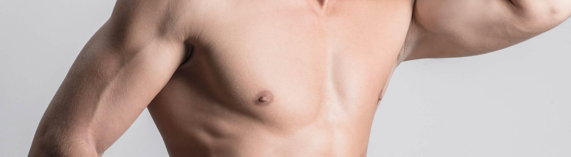 Gynäkomastie bei Männern vor und nach Gewichtsverlust